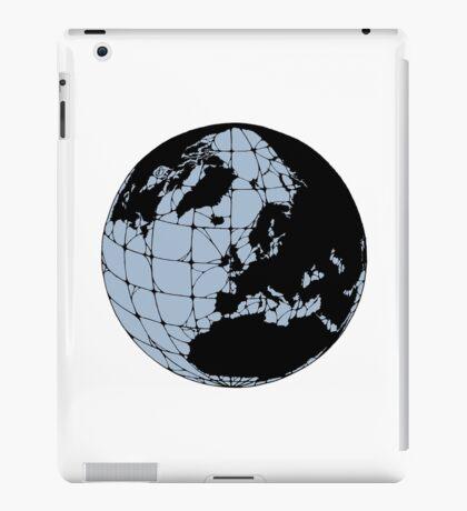 World Web (blue) iPad Case/Skin