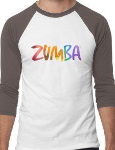 Zumba Powder Paint Men's Baseball ¾ T-Shirt