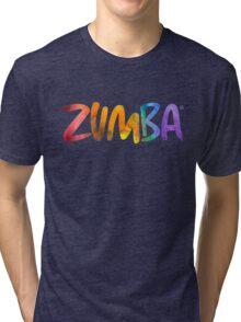 Zumba Tri-blend T-Shirt
