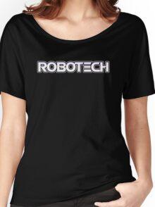 Robotech logo Women's Relaxed Fit T-Shirt