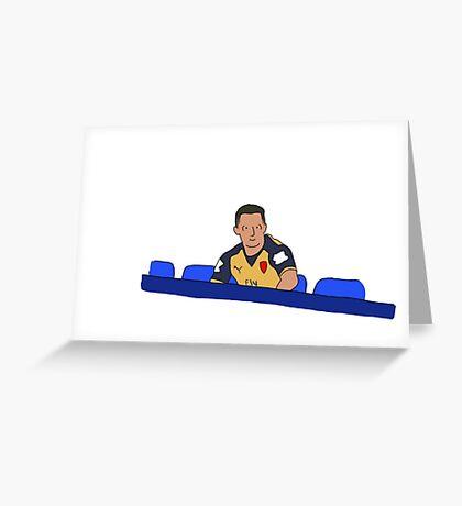 Sanchez Takes A Break Greeting Card
