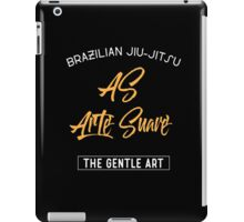 Brizilian Jiu-Jitsu As Arte Suave BJJ iPad Case/Skin