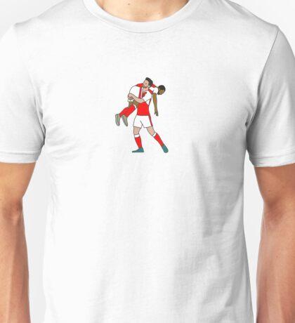 Mustafi Celebrates with Walcott Unisex T-Shirt