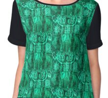 greenman Chiffon Top