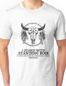 I Stand With Standing Rock Sioux Tribe Unisex T-Shirt