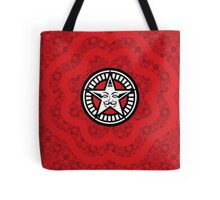 Disobey Red Propaganda Obey Shirt Patter V for Vendetta Design Tote Bag