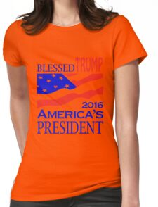 Donald TRUMP 2016 American President Womens Fitted T-Shirt