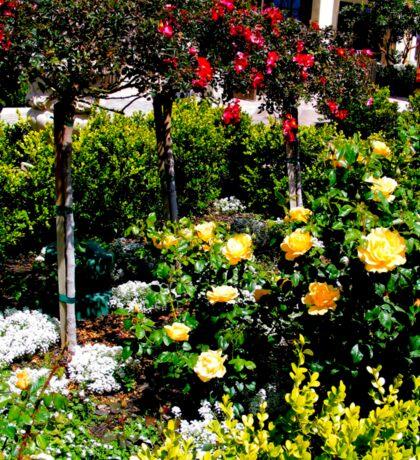 Flowers In A Row Sticker
