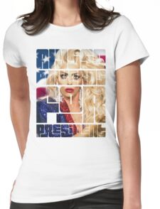 alyssa for prez Womens Fitted T-Shirt