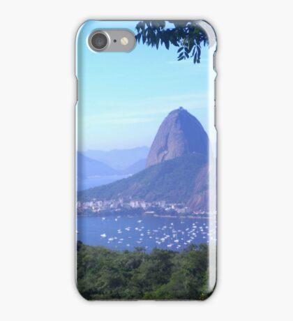 Sugarloaf Mountain, Rio de Janeiro iPhone Case/Skin