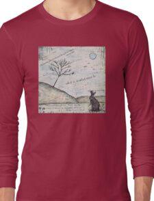 Watership Down Encaustic Long Sleeve T-Shirt