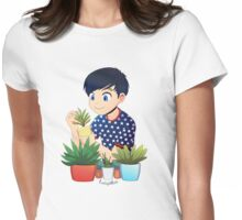 Plant Boy Womens Fitted T-Shirt