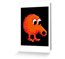 Q*Bert Greeting Card
