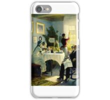 Carl Thomsen  tea time iPhone Case/Skin