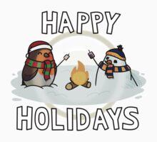 Holiday Robin (TMB) Kids Tee