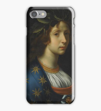 Carlo Dolci, allegory of poetry iPhone Case/Skin