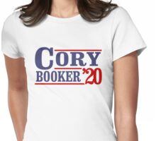 Cory Booker 2020 Womens Fitted T-Shirt