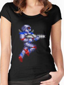 Turrican Pixel Art Women's Fitted Scoop T-Shirt