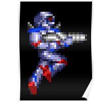 Turrican Pixel Art Poster