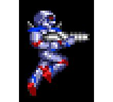 Turrican Pixel Art Photographic Print