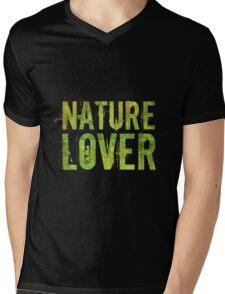 Nature Lover Mens V-Neck T-Shirt
