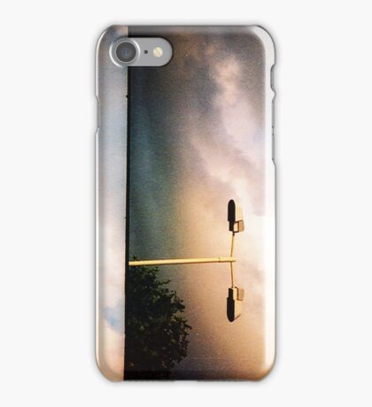 Train Station Lights iPhone Case/Skin