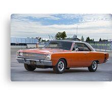 1969 Dodge Dart Swinger Canvas Print