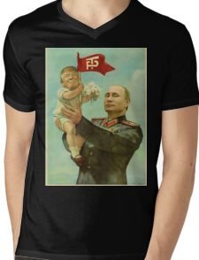 Trump Putin Mens V-Neck T-Shirt