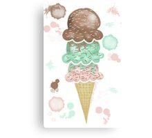 Icecream! Canvas Print
