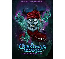 """""""A Christmas Scarol"""" A Visit by Three Hitchhiking Ghosts by Topher Adam Photographic Print"""