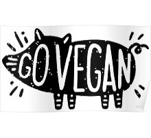 Go Vegan Poster