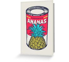 Condensed ananas Greeting Card