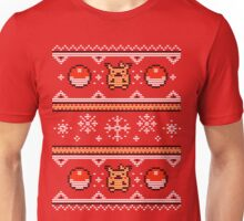 8-bit Christmas Sweater Unisex T-Shirt