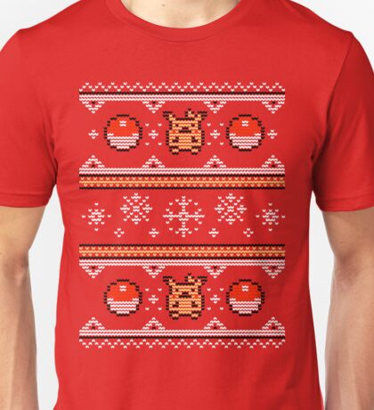 8-bit Christmas Sweater Unisex T-Shirt