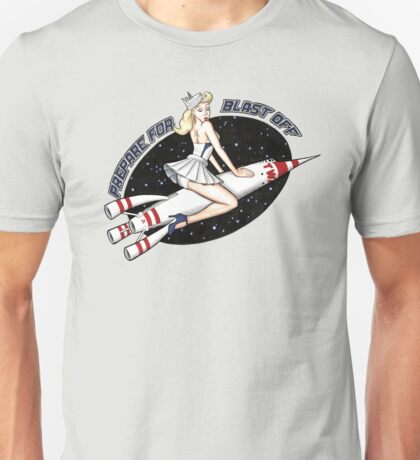 Space Mountain Pin-Up Unisex T-Shirt