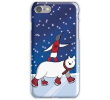 Years first snow iPhone Case/Skin
