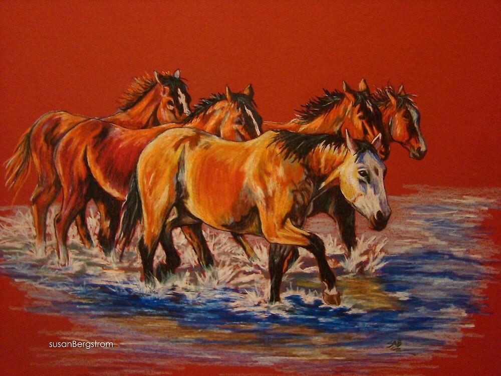 """""""Cool Crossings"""" by Susan Bergstrom"""
