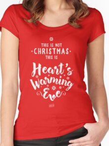 This is not Christmas... Women's Fitted Scoop T-Shirt