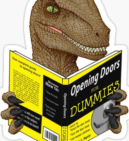 Opening Doors for Dummies Sticker
