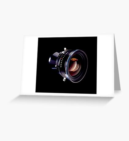 Lens  Greeting Card