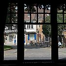 View from a pub window in York by John (Mike)  Dobson