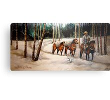 """""""Coming Down From Black Mountain"""" Metal Print"""