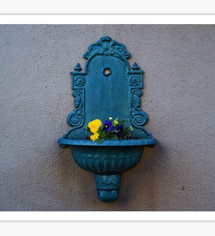 Hanging Flower Fountain Sticker