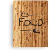 Infinite FOOD Canvas Print