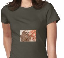 Something fishy Womens Fitted T-Shirt