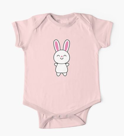 Cute Rabbit / Bunny One Piece - Short Sleeve