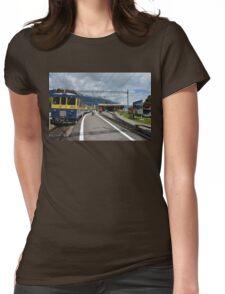 Swiss Railway Womens Fitted T-Shirt