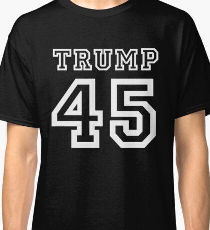 President Donald Trump 45 Shirt Faux Jersey 45th US America  Classic T-Shirt