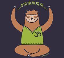 Om Yoga Sloth Women's Tank Top