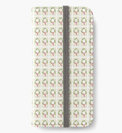 holly crown iPhone Wallet/Case/Skin